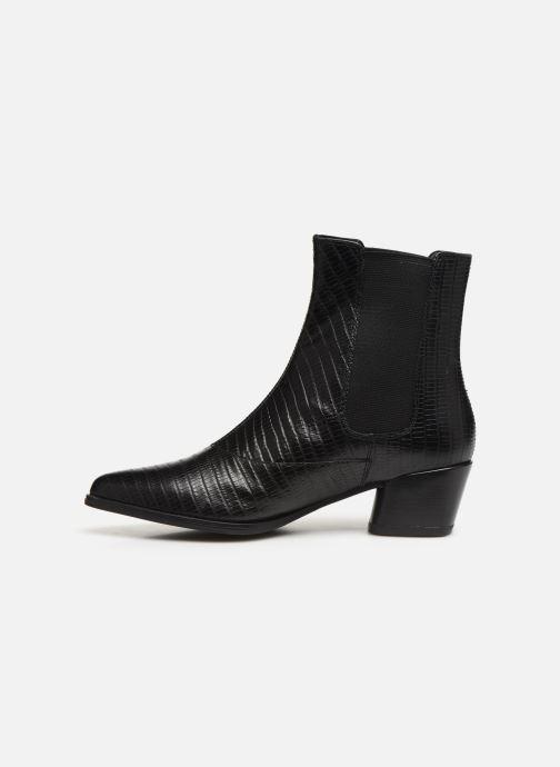 Bottines et boots Vagabond Shoemakers LARA CROCO Noir vue face