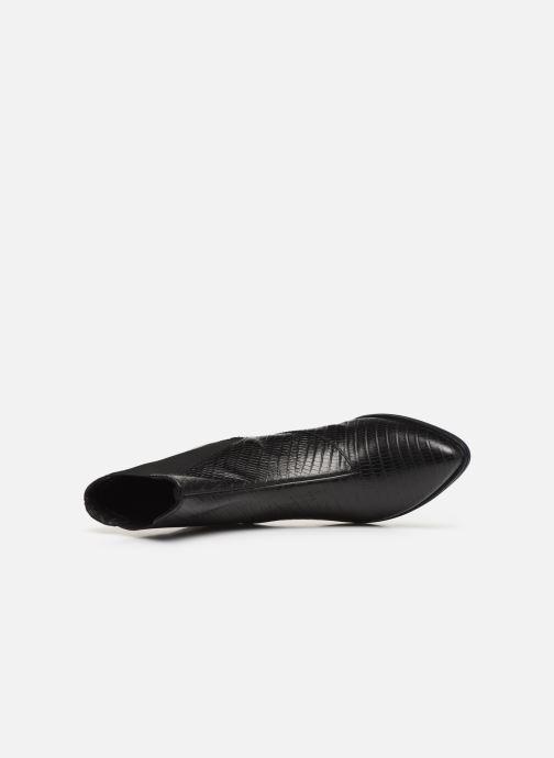 Bottines et boots Vagabond Shoemakers LARA CROCO Noir vue gauche