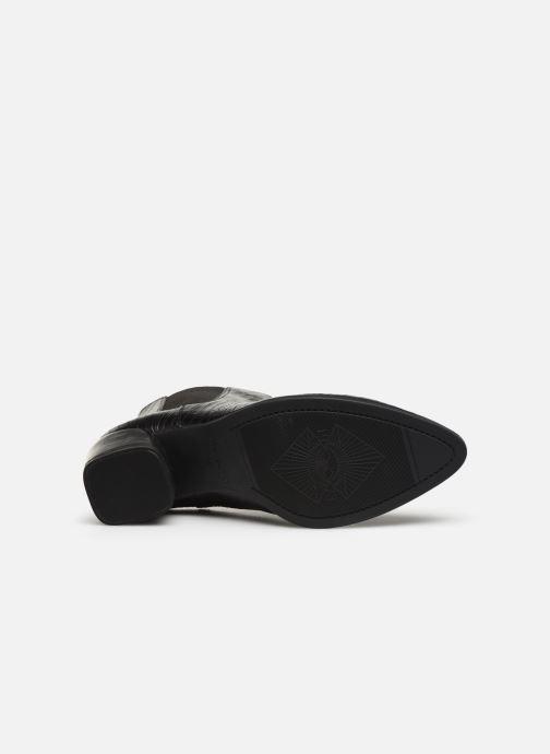 Bottines et boots Vagabond Shoemakers LARA CROCO Noir vue haut
