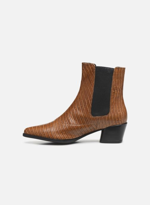 Boots en enkellaarsjes Vagabond Shoemakers LARA CROCO Bruin voorkant