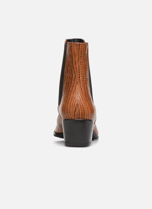 Boots en enkellaarsjes Vagabond Shoemakers LARA CROCO Bruin rechts