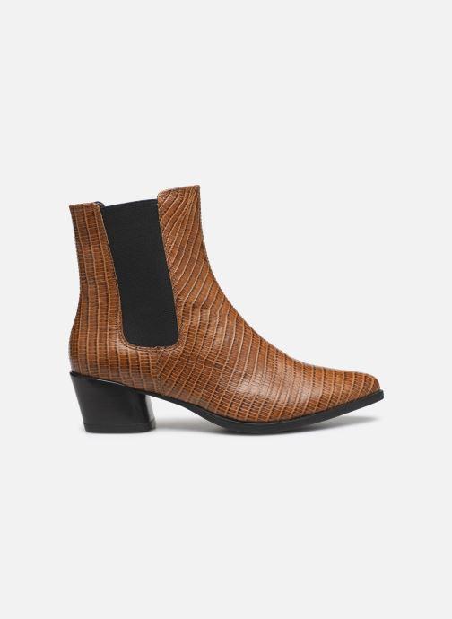 Boots en enkellaarsjes Vagabond Shoemakers LARA CROCO Bruin achterkant
