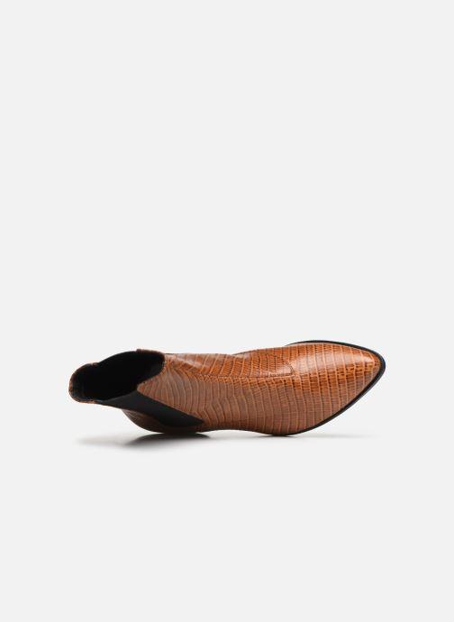 Botines  Vagabond Shoemakers LARA CROCO Marrón vista lateral izquierda