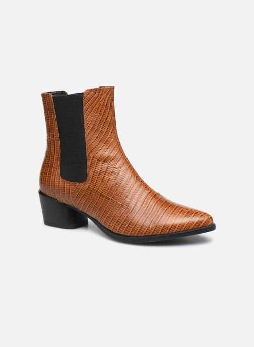 Boots en enkellaarsjes Vagabond Shoemakers LARA CROCO Bruin detail