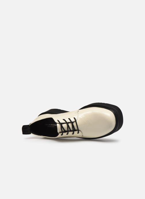 Veterschoenen Vagabond Shoemakers TARA 4946 Wit links