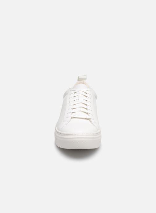 Deportivas Vagabond Shoemakers ZOE PLATFORM Blanco vista del modelo