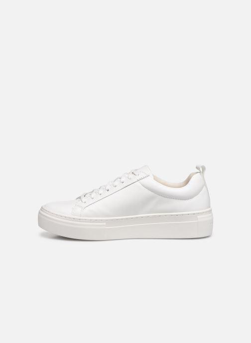 Baskets Vagabond Shoemakers ZOE PLATFORM Blanc vue face