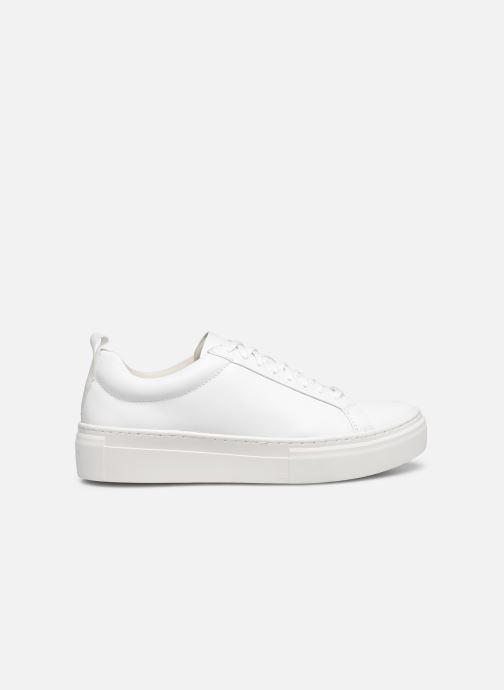 Sneaker Vagabond Shoemakers ZOE PLATFORM weiß ansicht von hinten