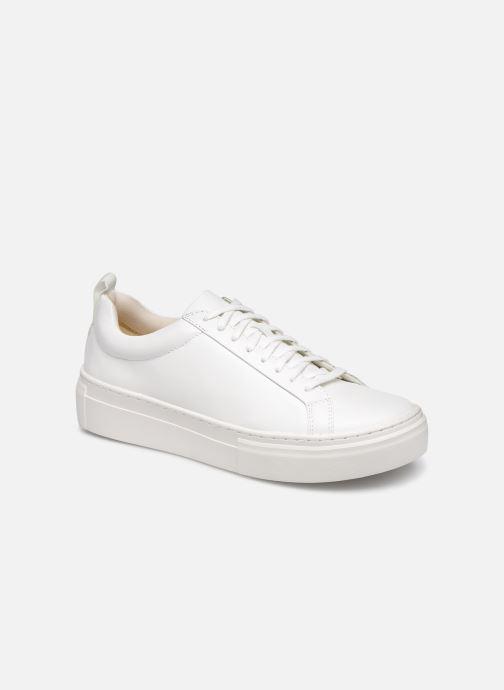 Baskets Vagabond Shoemakers ZOE PLATFORM Blanc vue détail/paire