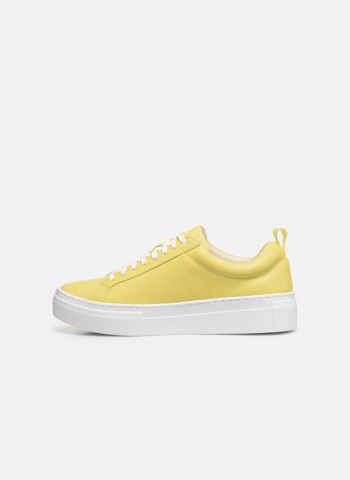 Sneakers Vagabond Shoemakers ZOE PLATFORM Geel voorkant