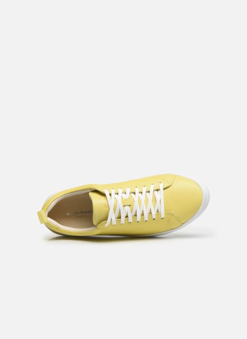Baskets Vagabond Shoemakers ZOE PLATFORM Jaune vue gauche