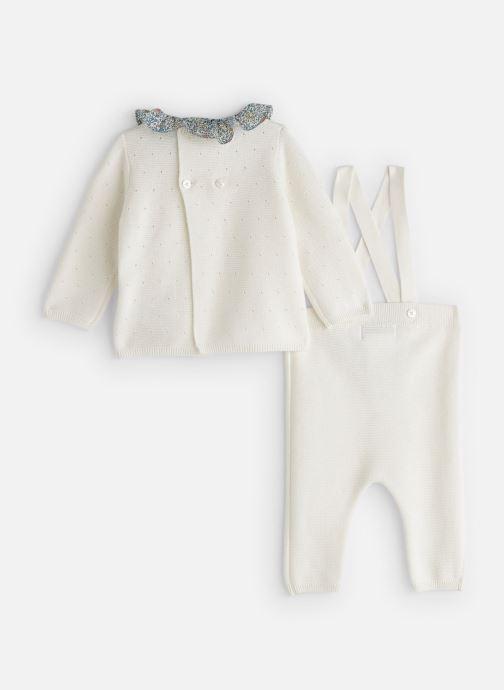 Vêtements Cyrillus Ensemble d'été Ema Blanc vue bas / vue portée sac
