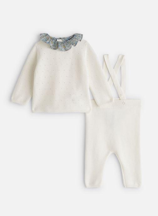 Vêtements Cyrillus Ensemble d'été Ema Blanc vue détail/paire