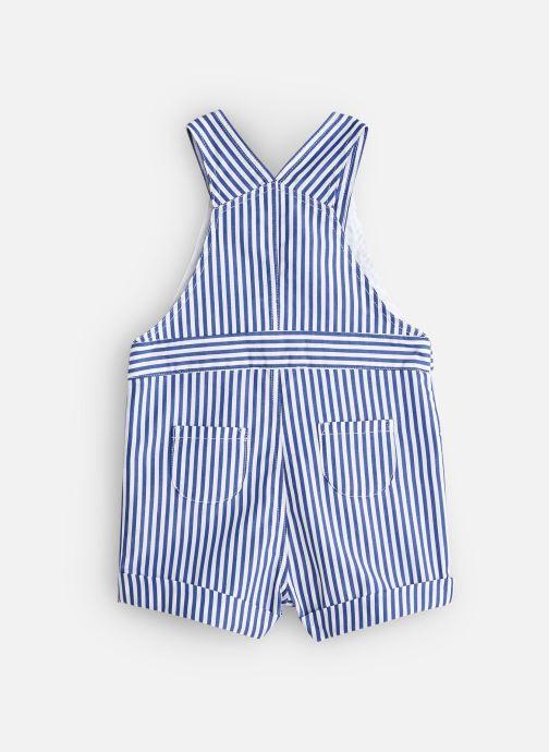 Vêtements Cyrillus Salopette Etienne Bleu vue bas / vue portée sac