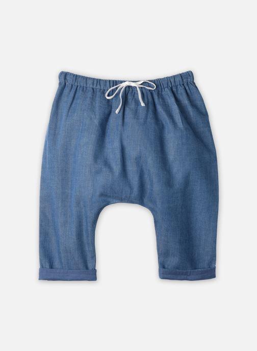 Vêtements Cyrillus Pantalon Casual Elias Bleu vue détail/paire