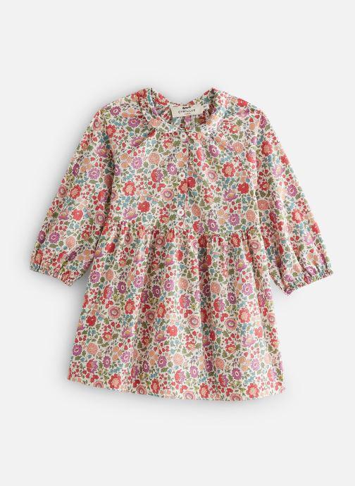 Vêtements Cyrillus Robe midi Ella Rose vue détail/paire