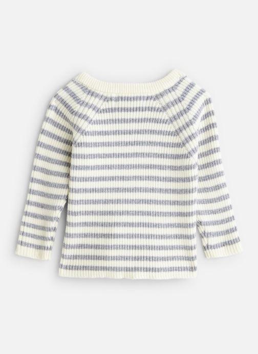 Vêtements Cyrillus Pull Etan Blanc vue bas / vue portée sac
