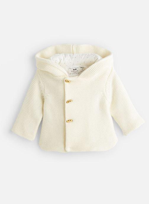 Vêtements Cyrillus Gilet Eudon Blanc vue détail/paire