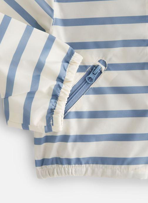 Vêtements Cyrillus Veste blouson Enguerran Bleu vue portées chaussures