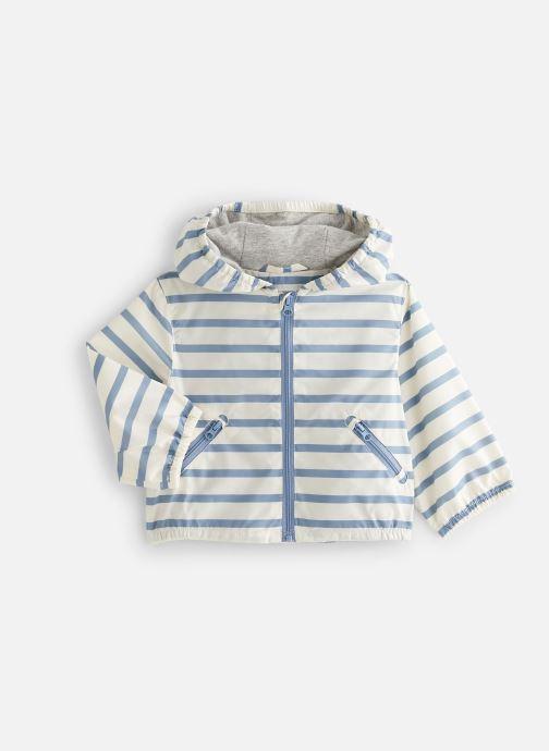 Vêtements Cyrillus Veste blouson Enguerran Bleu vue détail/paire