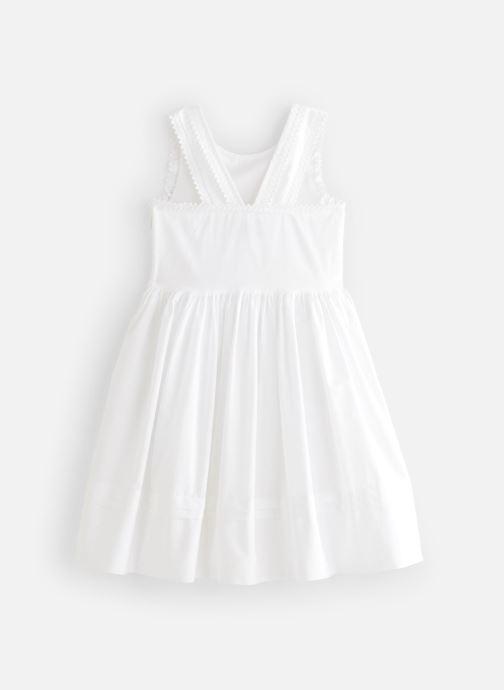 Vêtements Cyrillus Robe midi Flore Blanc vue bas / vue portée sac
