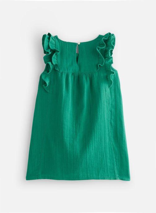 Vêtements Cyrillus Robe midi Framboise Vert vue bas / vue portée sac
