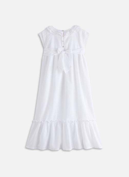 Vêtements Cyrillus Robe maxi Fanta Blanc vue bas / vue portée sac