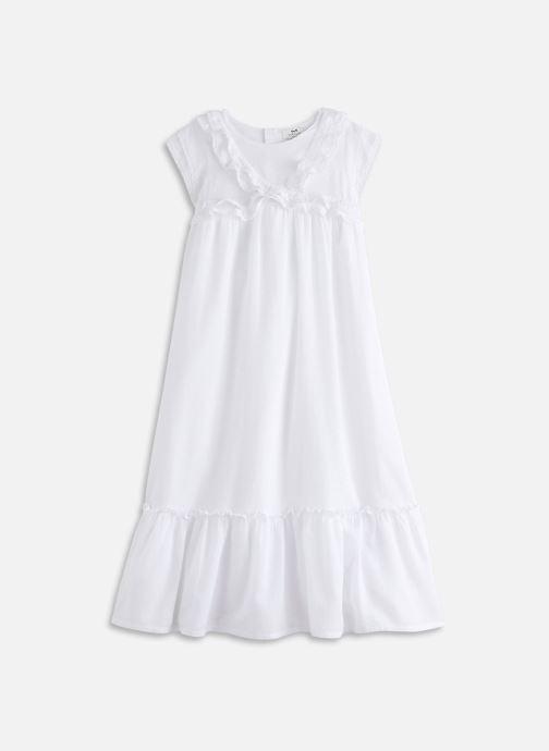 Vêtements Cyrillus Robe maxi Fanta Blanc vue détail/paire