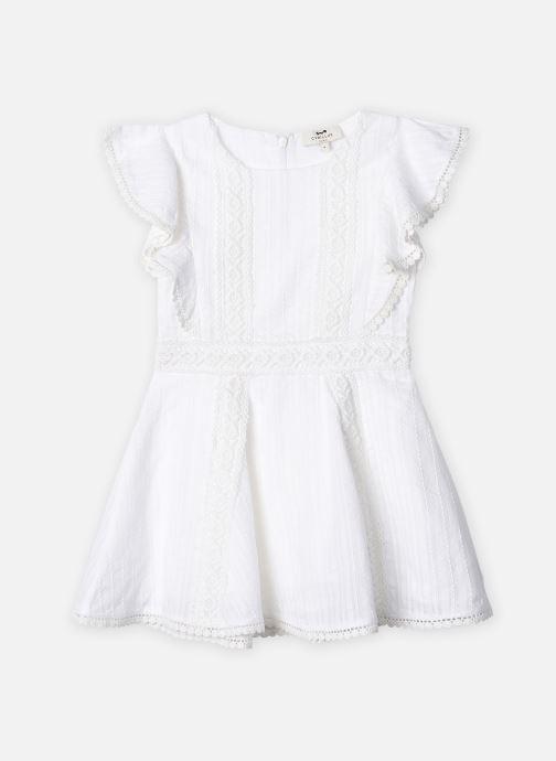 Vêtements Cyrillus Robe midi Fozia Blanc vue détail/paire