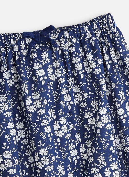 Vêtements Cyrillus Jupe midi Fabia Bleu vue portées chaussures