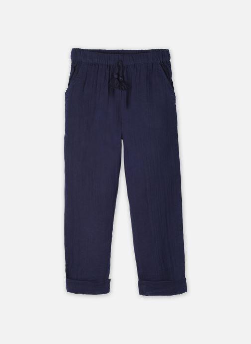 Vêtements Cyrillus Pantalon Casual Frida Bleu vue détail/paire