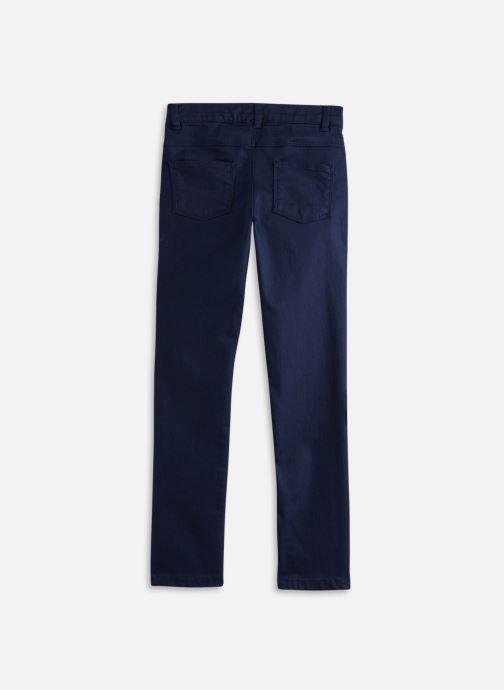 Vêtements Cyrillus Pantalon slim Fanette Bleu vue bas / vue portée sac