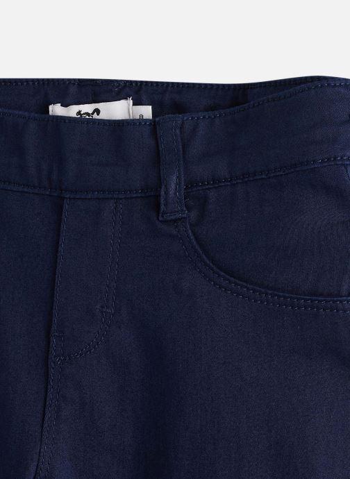 Vêtements Cyrillus Pantalon slim Fanette Bleu vue portées chaussures