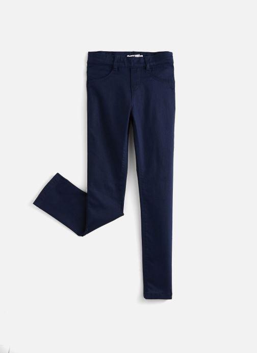 Vêtements Cyrillus Pantalon slim Fanette Bleu vue détail/paire