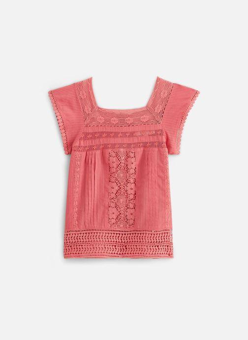 Vêtements Cyrillus Top Figaro Rouge vue bas / vue portée sac