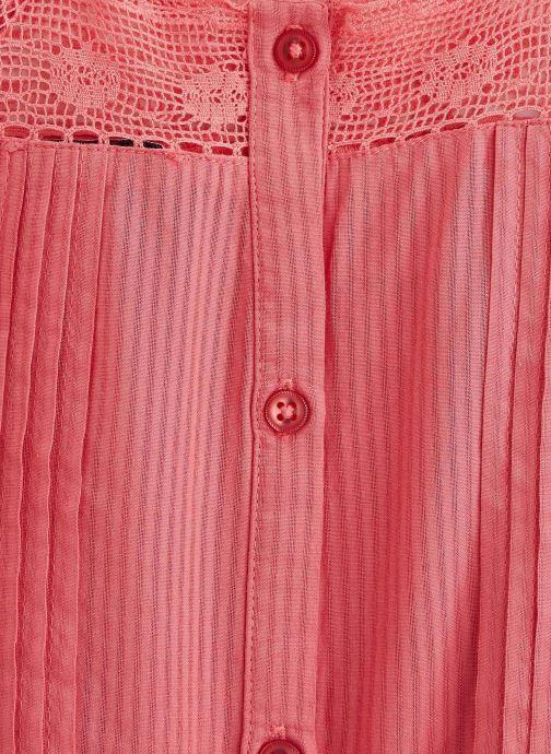 Vêtements Cyrillus Top Figaro Rouge vue portées chaussures