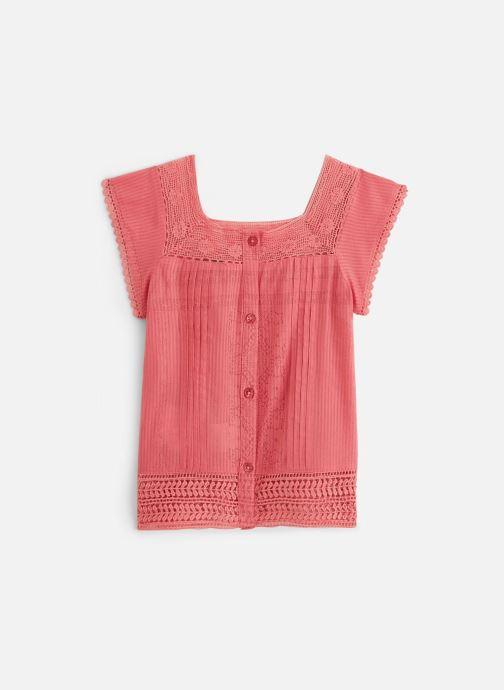 Vêtements Cyrillus Top Figaro Rouge vue détail/paire