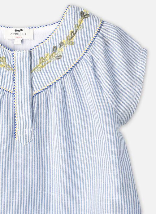 Vêtements Cyrillus Blouse Florencia Bleu vue face