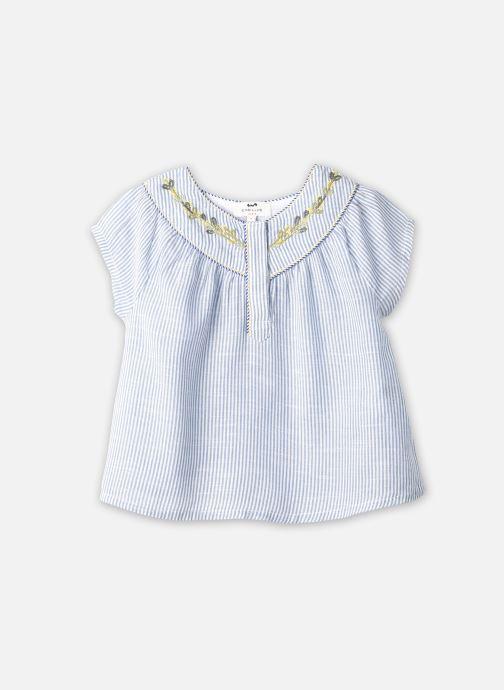 Vêtements Cyrillus Blouse Florencia Bleu vue détail/paire
