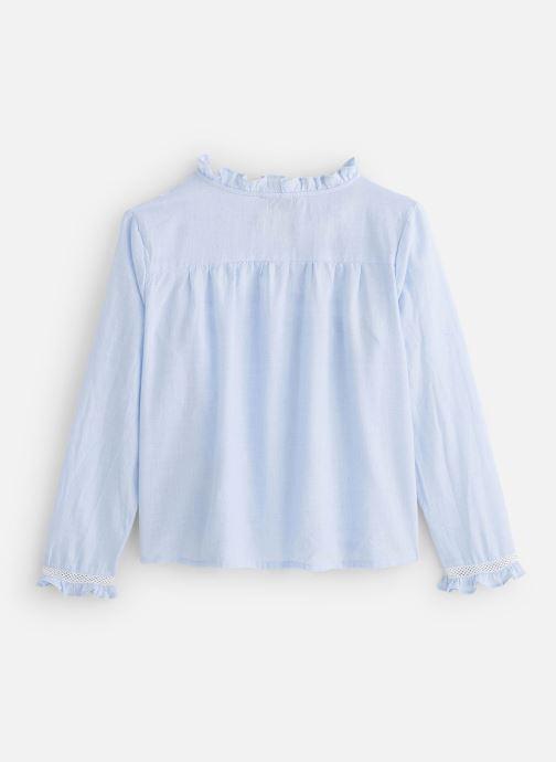 Vêtements Cyrillus Blouse Fiorina Bleu vue bas / vue portée sac