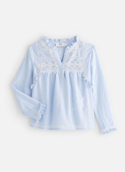 Vêtements Cyrillus Blouse Fiorina Bleu vue détail/paire