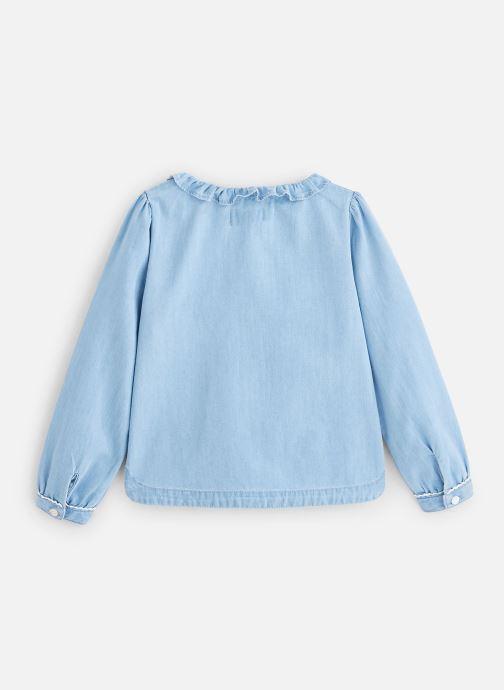 Vêtements Cyrillus Chemise Figueria Bleu vue bas / vue portée sac