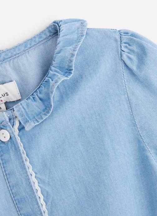 Vêtements Cyrillus Chemise Figueria Bleu vue portées chaussures