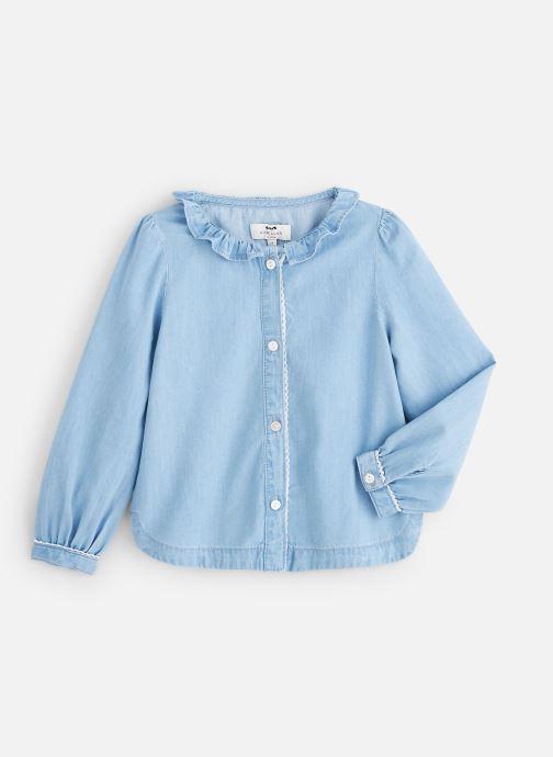 Vêtements Cyrillus Chemise Figueria Bleu vue détail/paire