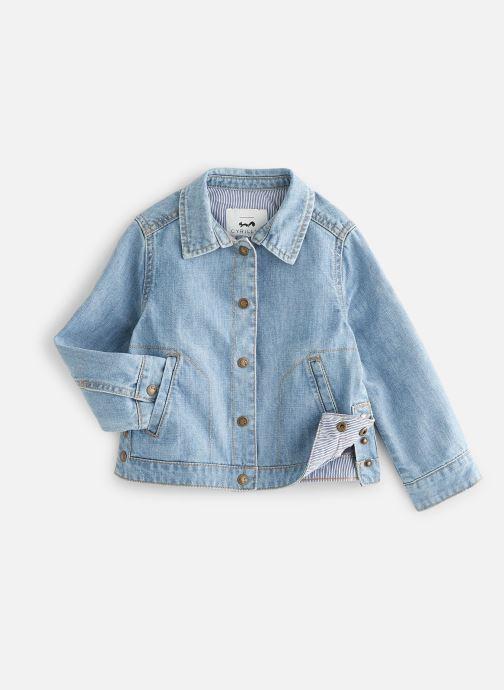 Vêtements Cyrillus Veste en jean Fashion Bleu vue détail/paire