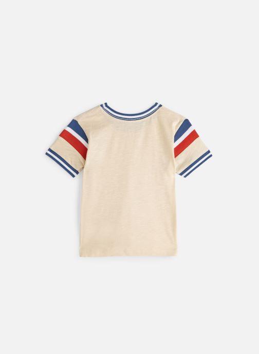 Vêtements Cyrillus T-shirt Gustave Beige vue bas / vue portée sac