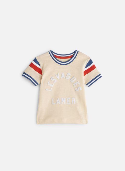 Vêtements Cyrillus T-shirt Gustave Beige vue détail/paire