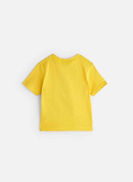Vêtements Cyrillus T-shirt Gary Jaune vue bas / vue portée sac