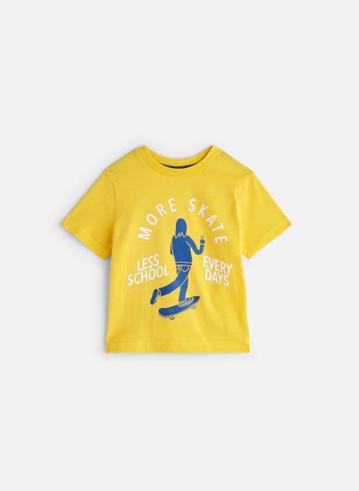 Vêtements Cyrillus T-shirt Gary Jaune vue détail/paire