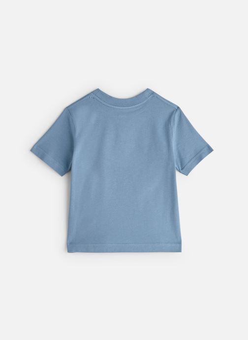 Vêtements Cyrillus T-shirt Gary Bleu vue bas / vue portée sac
